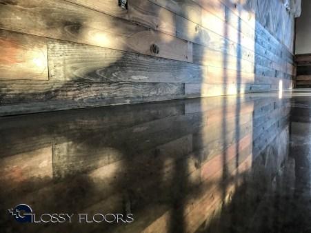 Polished Concrete Showroom Floor