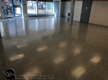 epoxy flakes on a showroom floor Epoxy Flakes On A Showroom Floor Epoxy Flake Floors 70