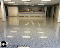 epoxy flakes on a showroom floor Epoxy Flakes On A Showroom Floor Epoxy Flake Floors 87