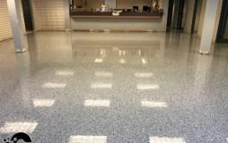epoxy flakes on a showroom floor Epoxy Flakes On A Showroom Floor Epoxy Flake Floors 91