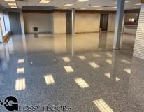 epoxy flakes on a showroom floor Epoxy Flakes On A Showroom Floor Epoxy Flake Floors 97