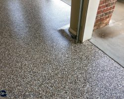 Epoxy Flake Floor