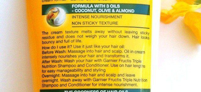 Garnier Fructis Oil in Cream Review (5)