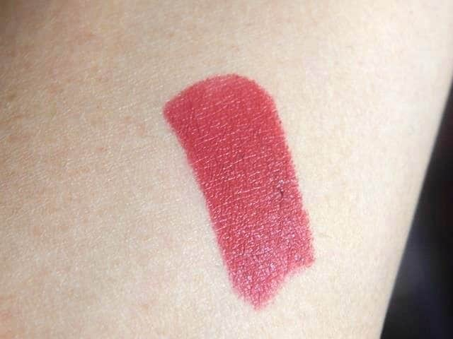 Maybelline colorshow Burgundy Blend Review Swatches 409 4