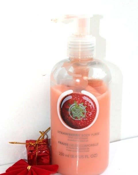 The Body Shop Strawberry Body Puree Review