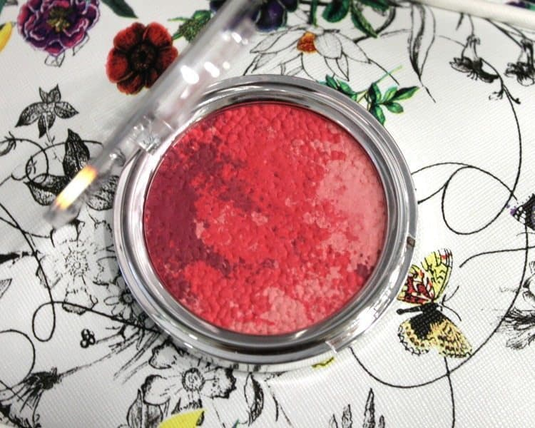 colorbar luminous rouge blush luminous rose review 2