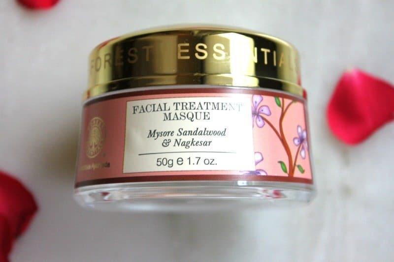 Facial Treatment Masque Nourishing Mysore Sandalwood & Nagkesar Review 2