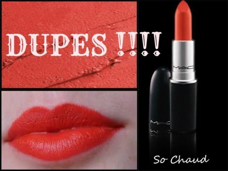 MAC SO CHAUD Dupes 3