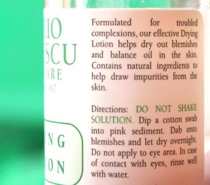 Mario Badescu Drying Lotion Review 3