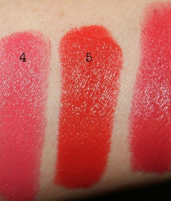 colorbar lipstick swatches 4