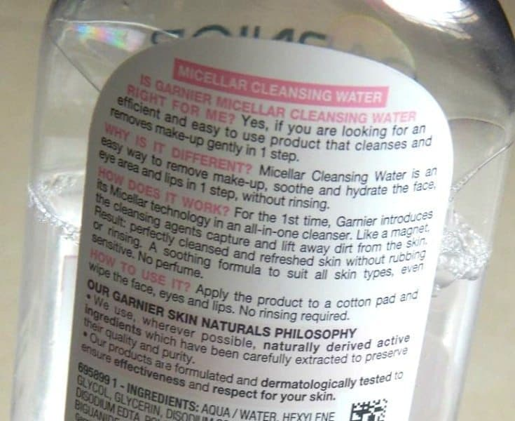 Garnier Skinactive Micellar Cleansing Water All-In-1 Makeup Remover & Cleanser Review