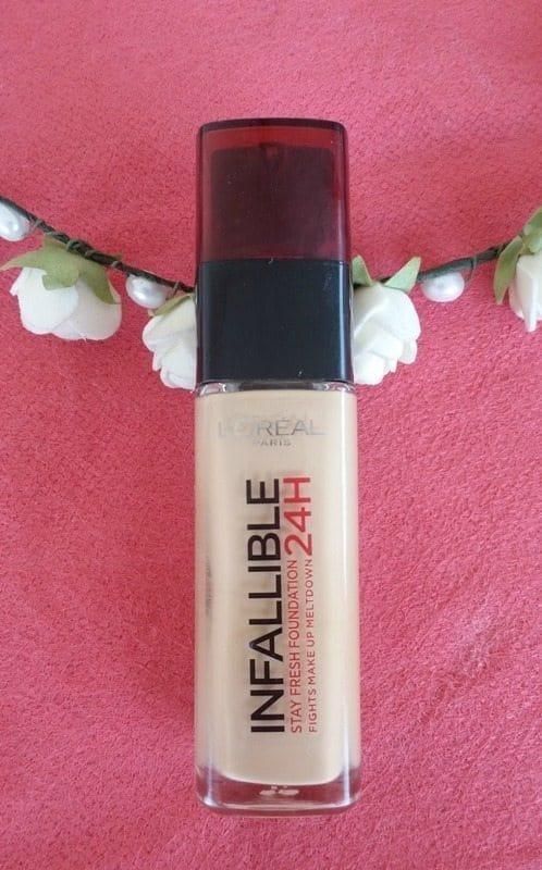 L'Oréal Paris Infallible 24 H Stay Fresh Foundation Review