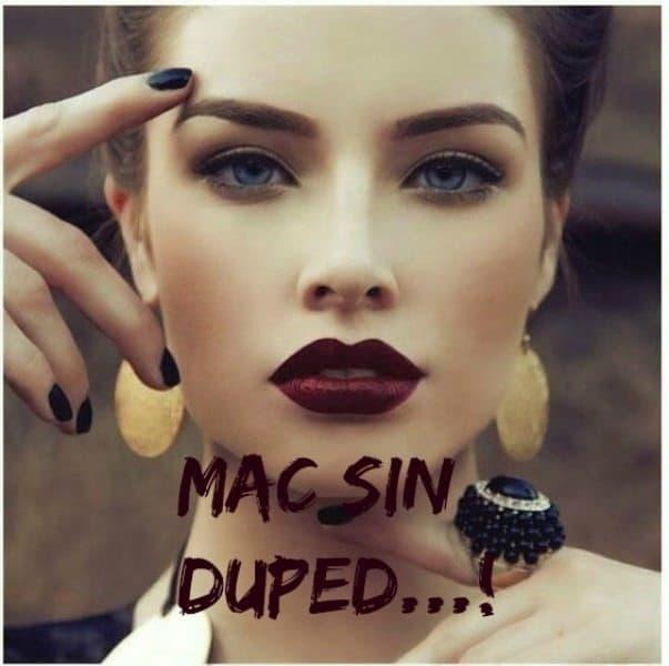 MAC Sin Dupes