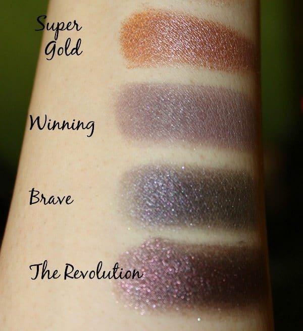 Makeup Revolution Fortune Favors The Brave Eyeshadow Palette 8
