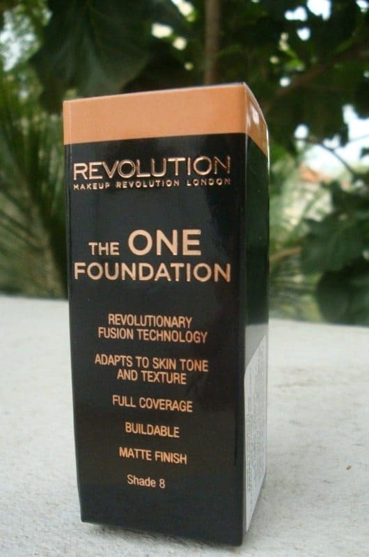 Makeup Revolution the One Foundation Review