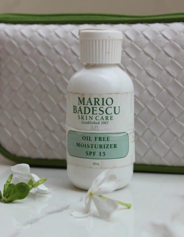 Mario Badescu Oil Free Moisturizer SPF 17 Review