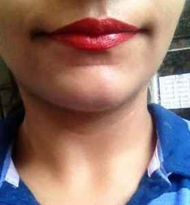 Maybelline Color Sensational Summer Sunset Lipstick review 4