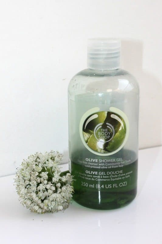 The Body Shop Olive Shower Gel Review 4