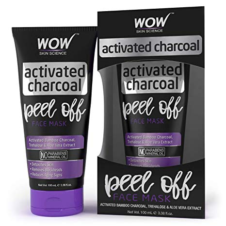 Wow Activated Charcoal face mask: