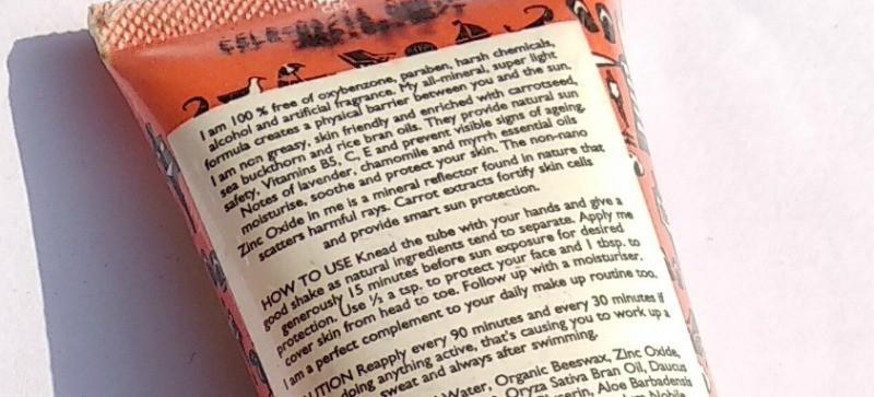 Aroma Magic Carrot Sunscreen Lotion  2