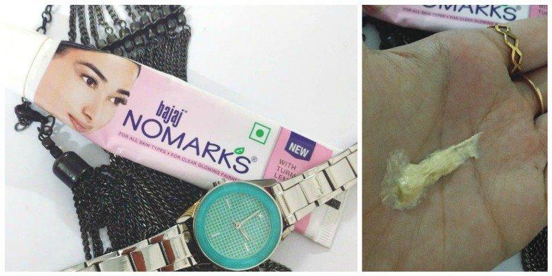 Bajaj Nomarks Cream Review