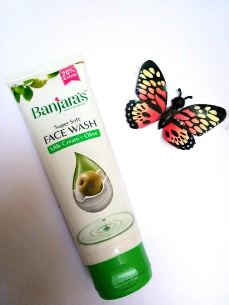 Banjara's Milk Cream + Olive Super Soft Face Wash 3