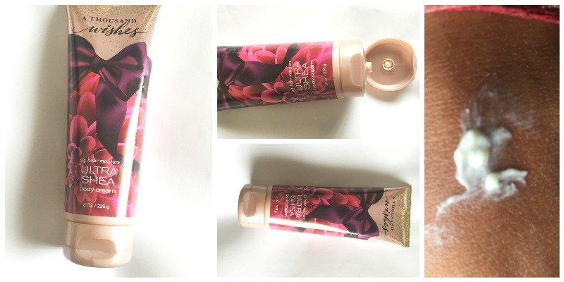 Bath and Body Works A Thousand Wishes Ultra Shea Body Cream