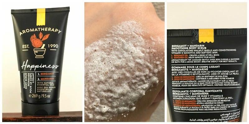 Bath and Body Works Happiness Bergamot and Mandarin Body Scrub2