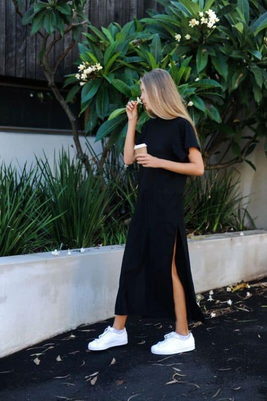 Best Shoes to Wear with Maxi Dress 4