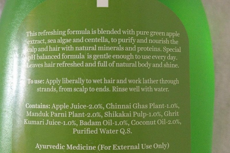 Biotique Bio Green Apple Daily Purifying Shampoo And Conditioner Review 1
