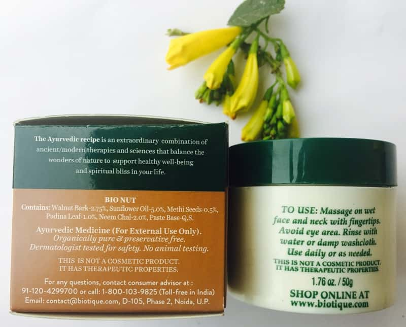 Biotique Walnut Scrub the Best Face Scrub