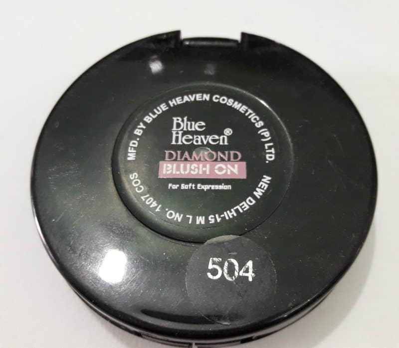 Blue Heaven diamond Blush On 504 4