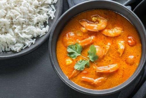 Chingri malai curry: