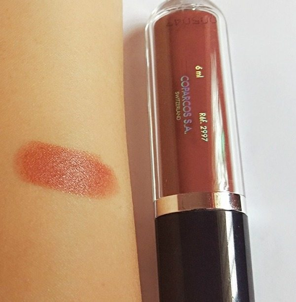 Chambor Extreme Wear Transferproof Liquid Lipstick 484 Review 3
