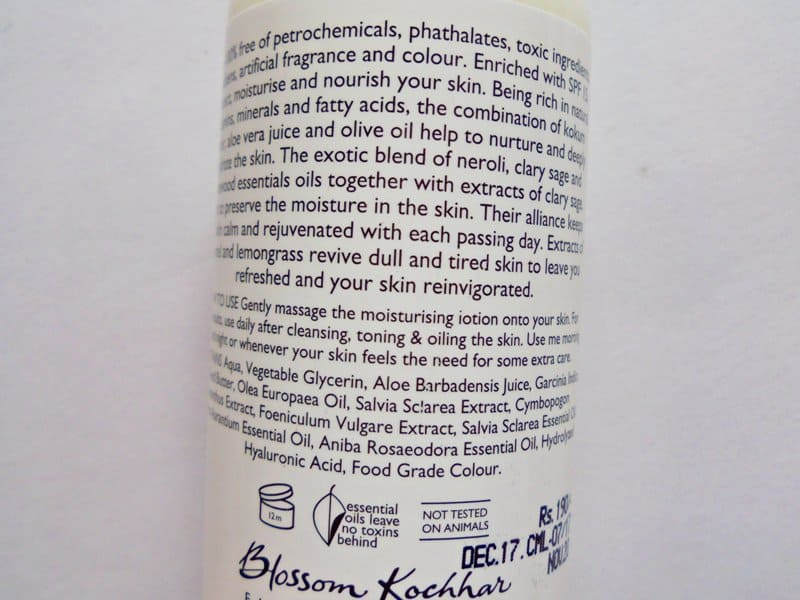 Clary Sage Lotion By Aroma Magic 2