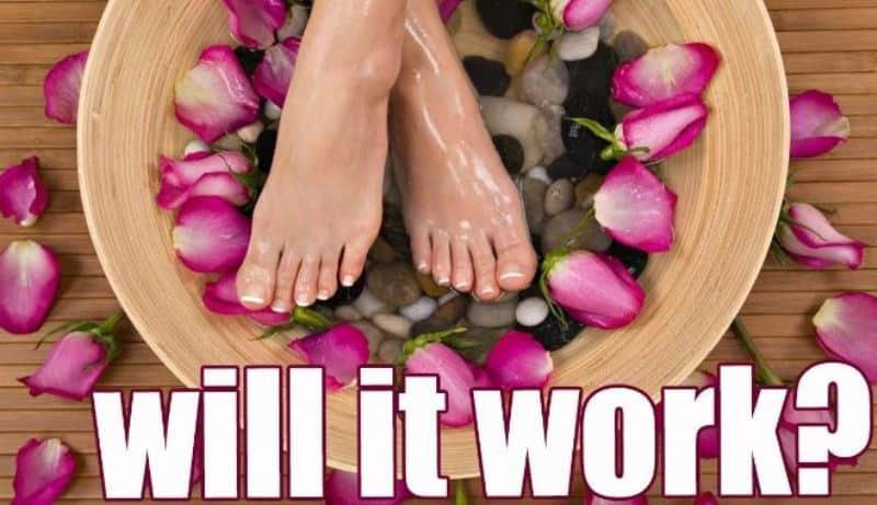 DIY Listerine Foot Soak - Heal Cracked Heels At Home !