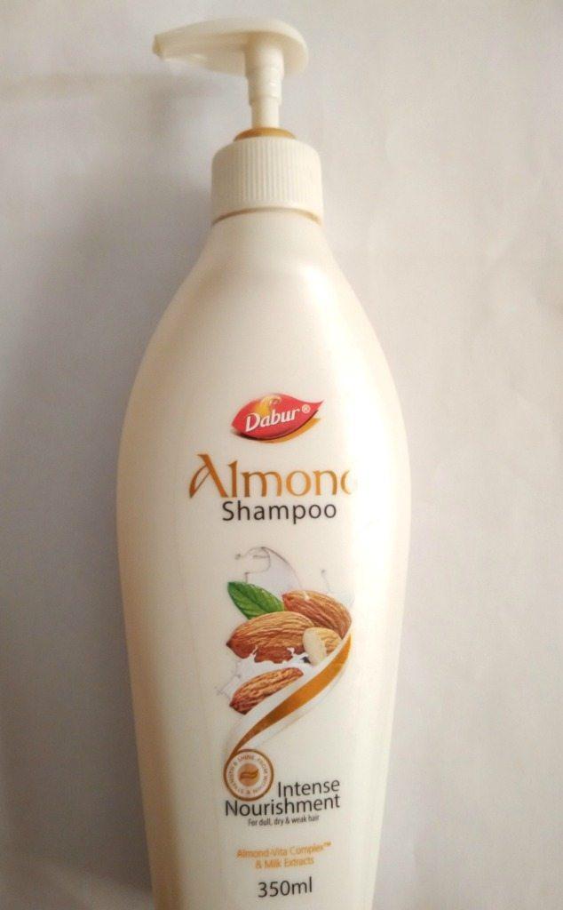 Dabur Almond Intense Nourishment Shampoo Review 1