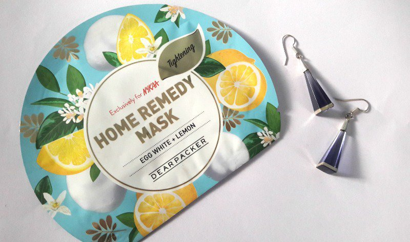 Dear Packer Egg White + Lemon Home Remedy Mask