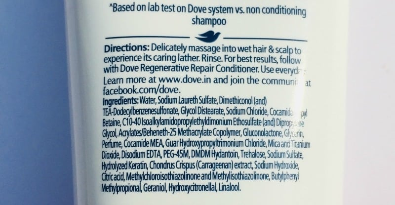 Dove Regenerative Shampoo And Conditioner 1