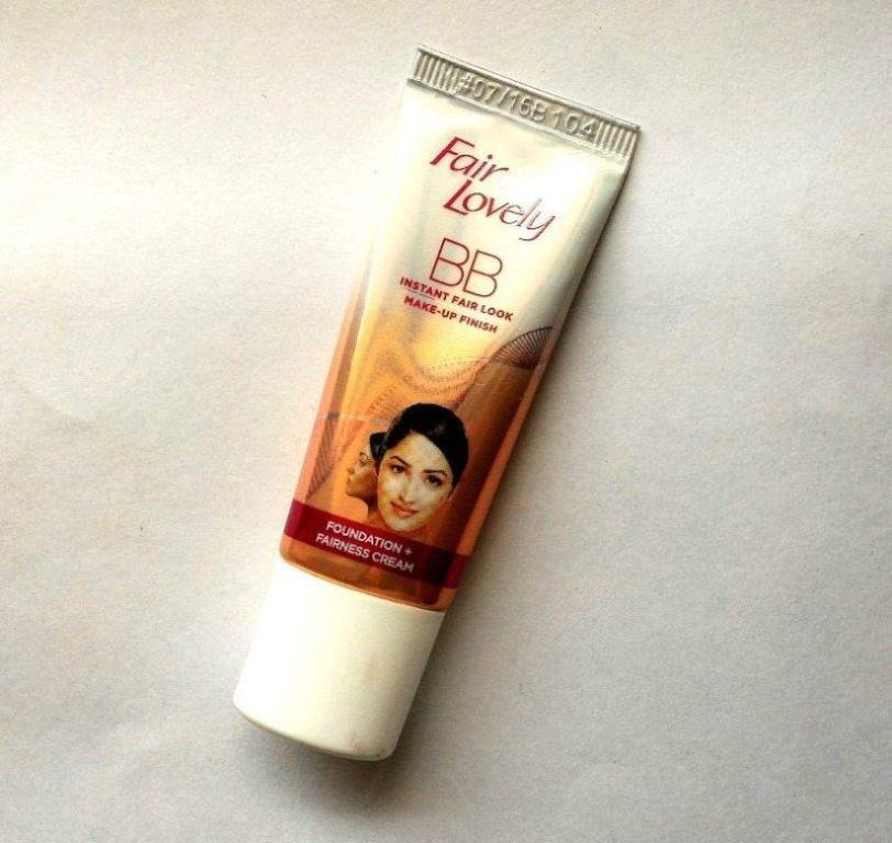 Fair and Lovely BB Instant Fair Look Fairness Cream Review
