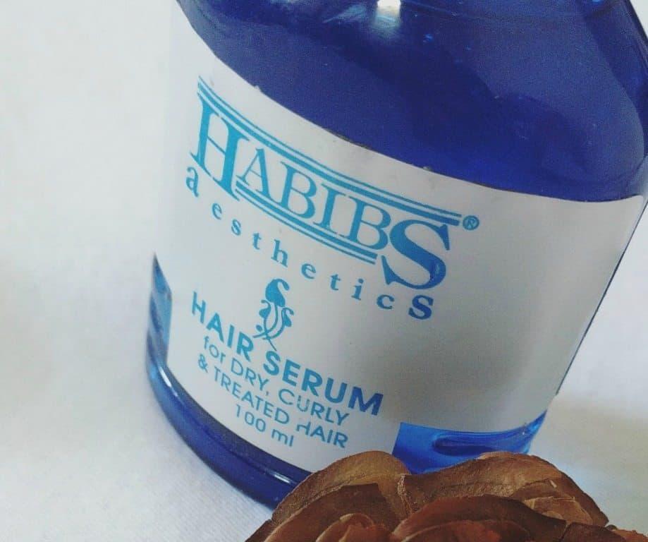 Habibs Aesthetics Hair Serum For Dry Curl and Treated Hair 2