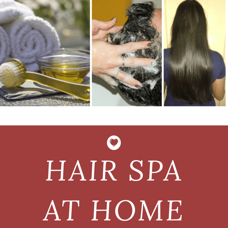 Hair Spa at Home ! Step by Step Guide