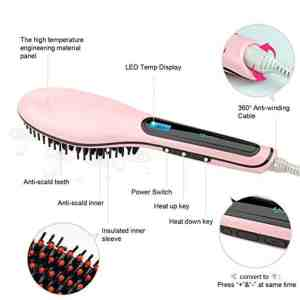 Hair Straightening Brushes - All You Need to Know ! 3