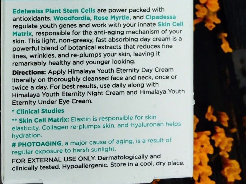 Himalaya Youth Eternity Day Cream 2