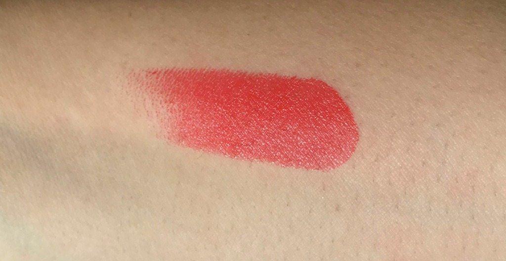 Inglot Lipstick 127 Review 5
