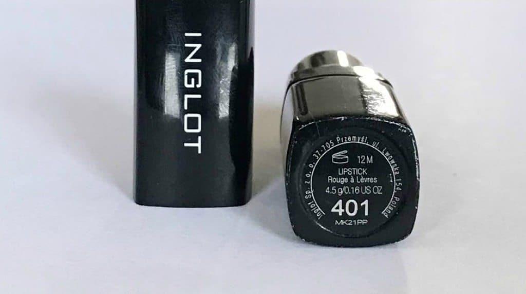 Inglot Lipstick 401 3