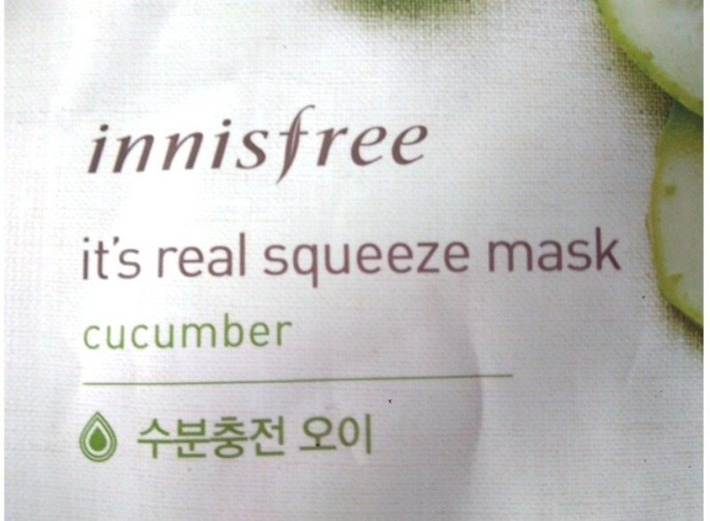 Innisfree Cucumber Squeeze Mask Review 2