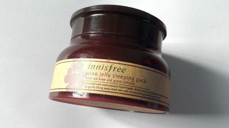 Innisfree Wine Jelly Sleeping Pack