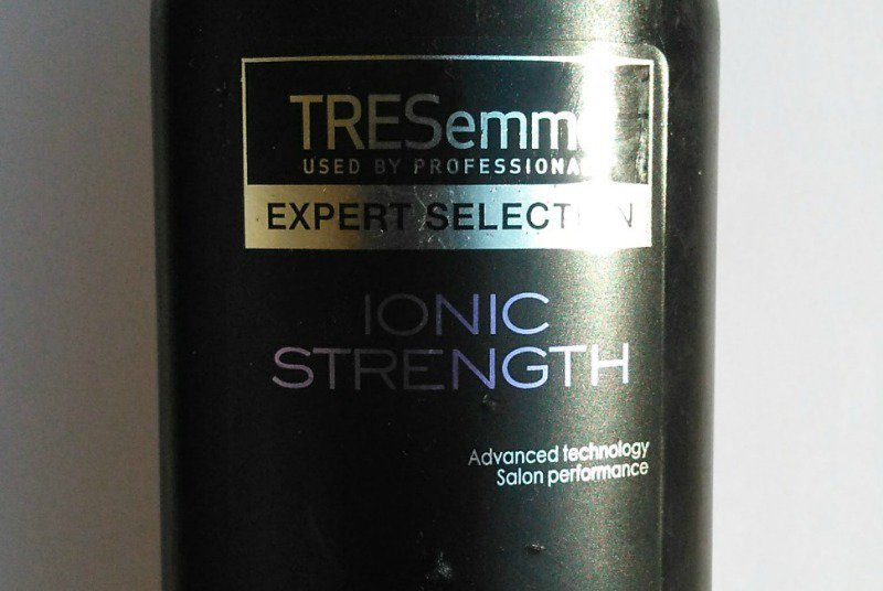 Ionic Strength Tresemme Shampoo 2