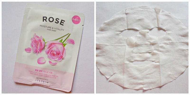 It's Skin Rose Moisture & Vitality Mask Sheet